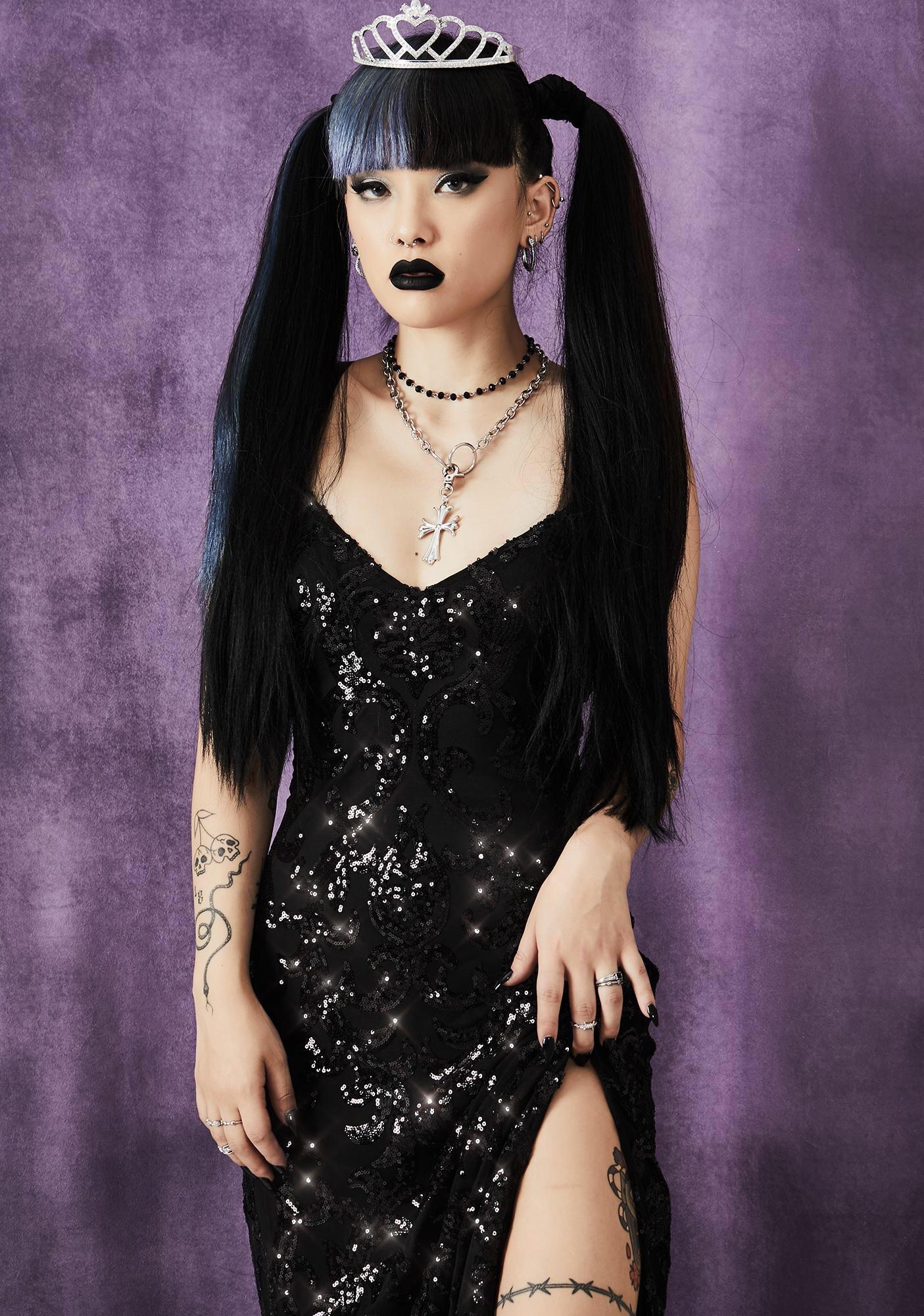 Widow Cryptic Moonlight Sequin Dress