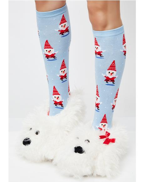 Winter Wonderland Socks