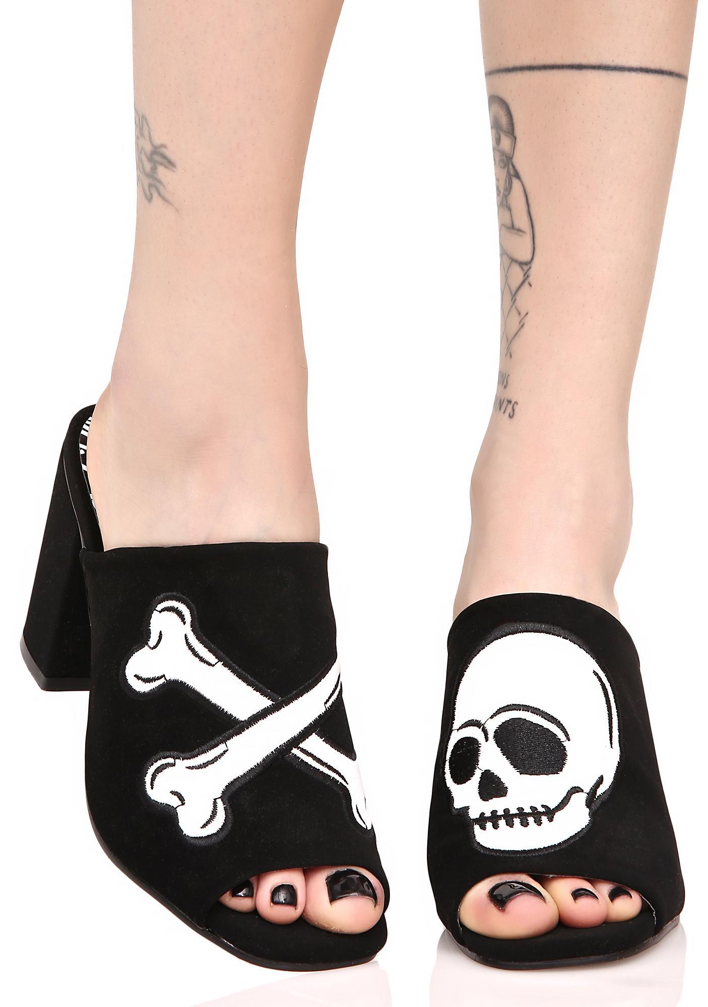 Iron Fist Dead Tired Slide Heels
