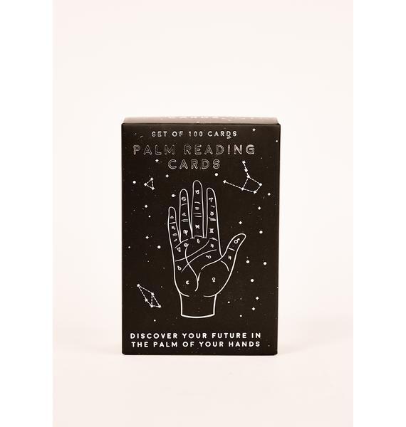 Constant Surprises Palm Reading Cards