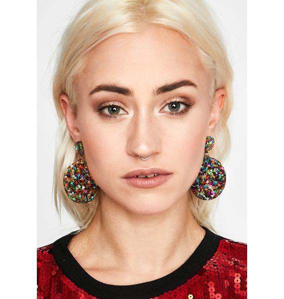 Full Circle Drop Earrings