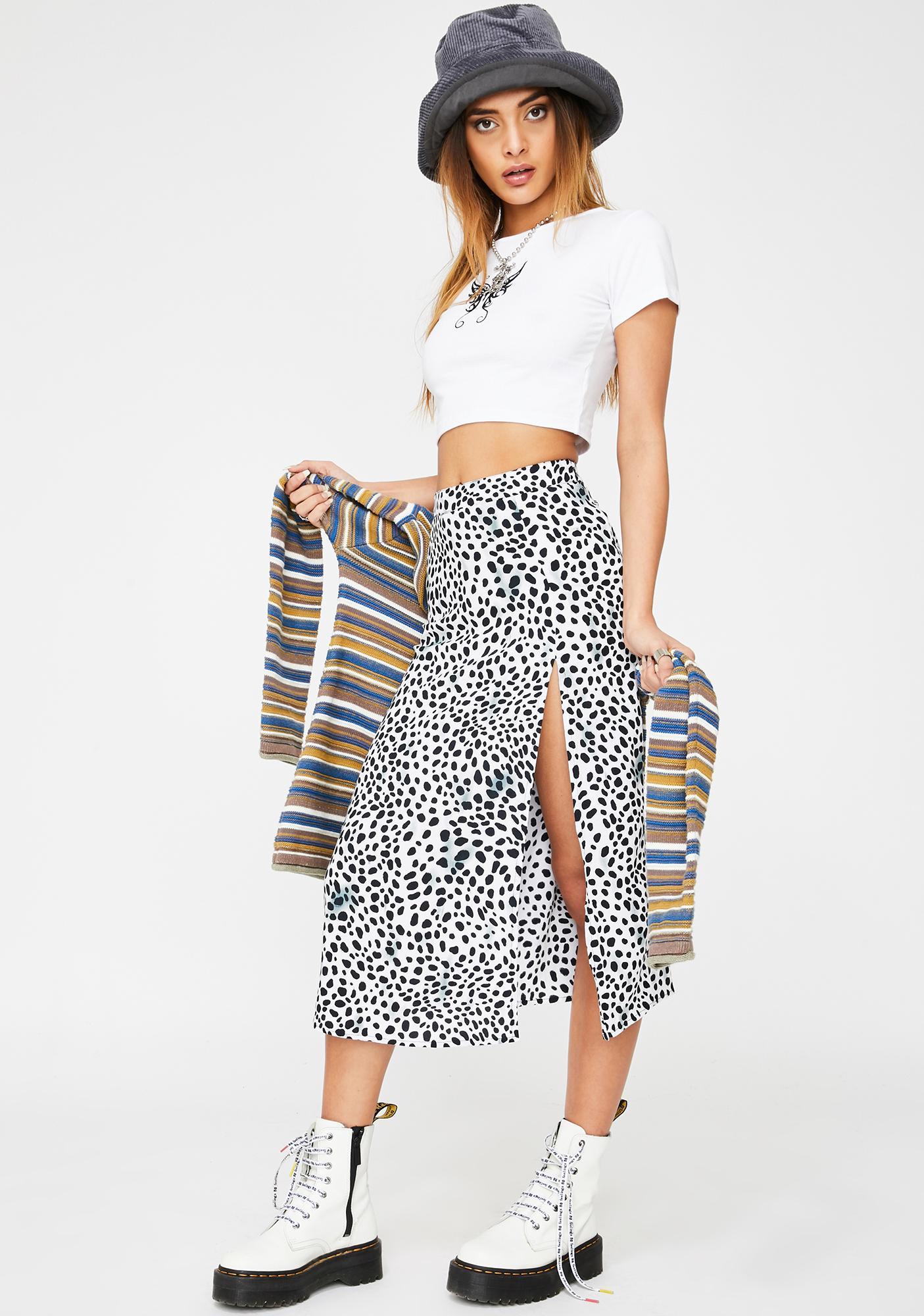 Motel Dalmatian Saika Skirt