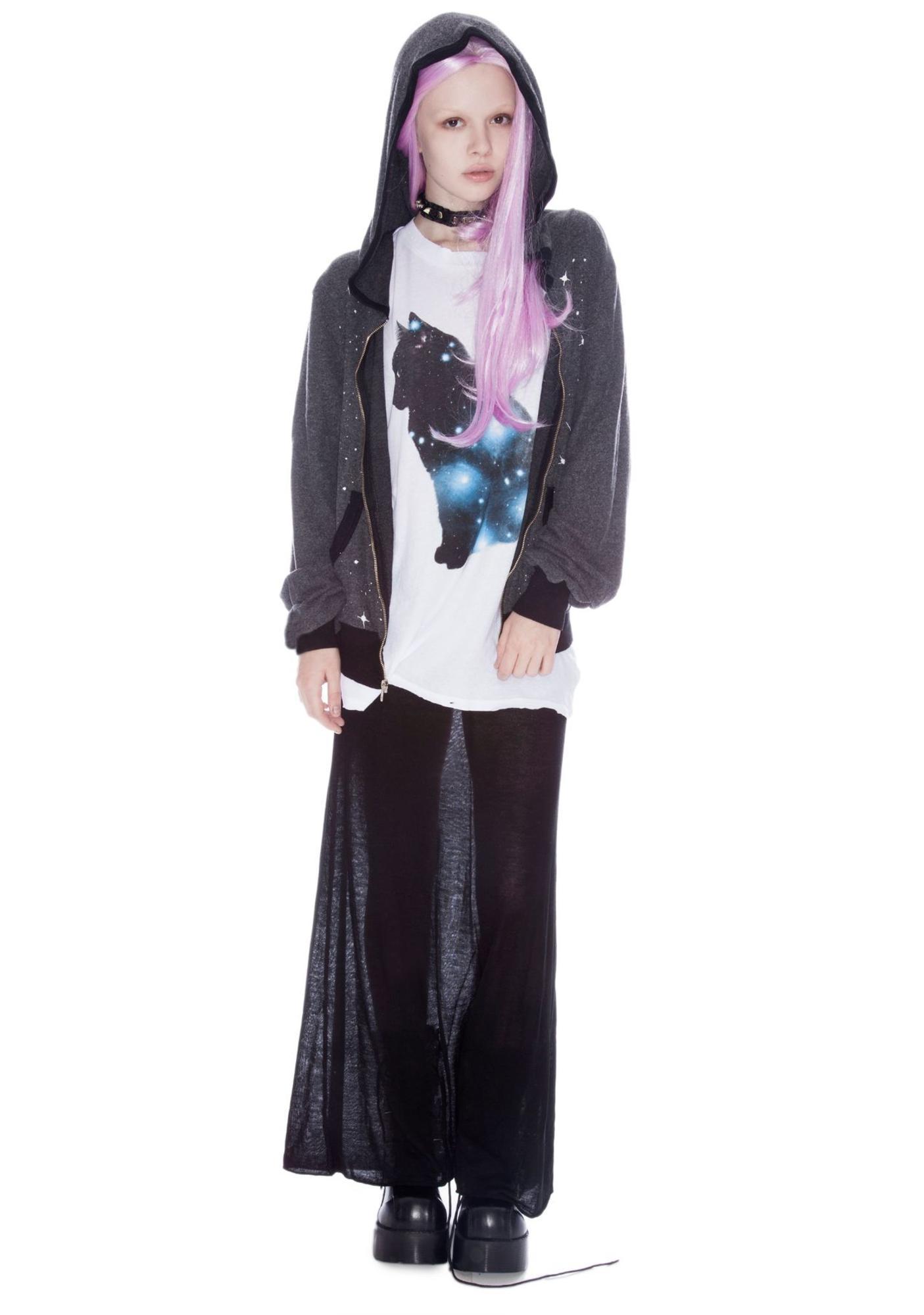 Wildfox Couture Malibu Zip Up I Believe Hoodie