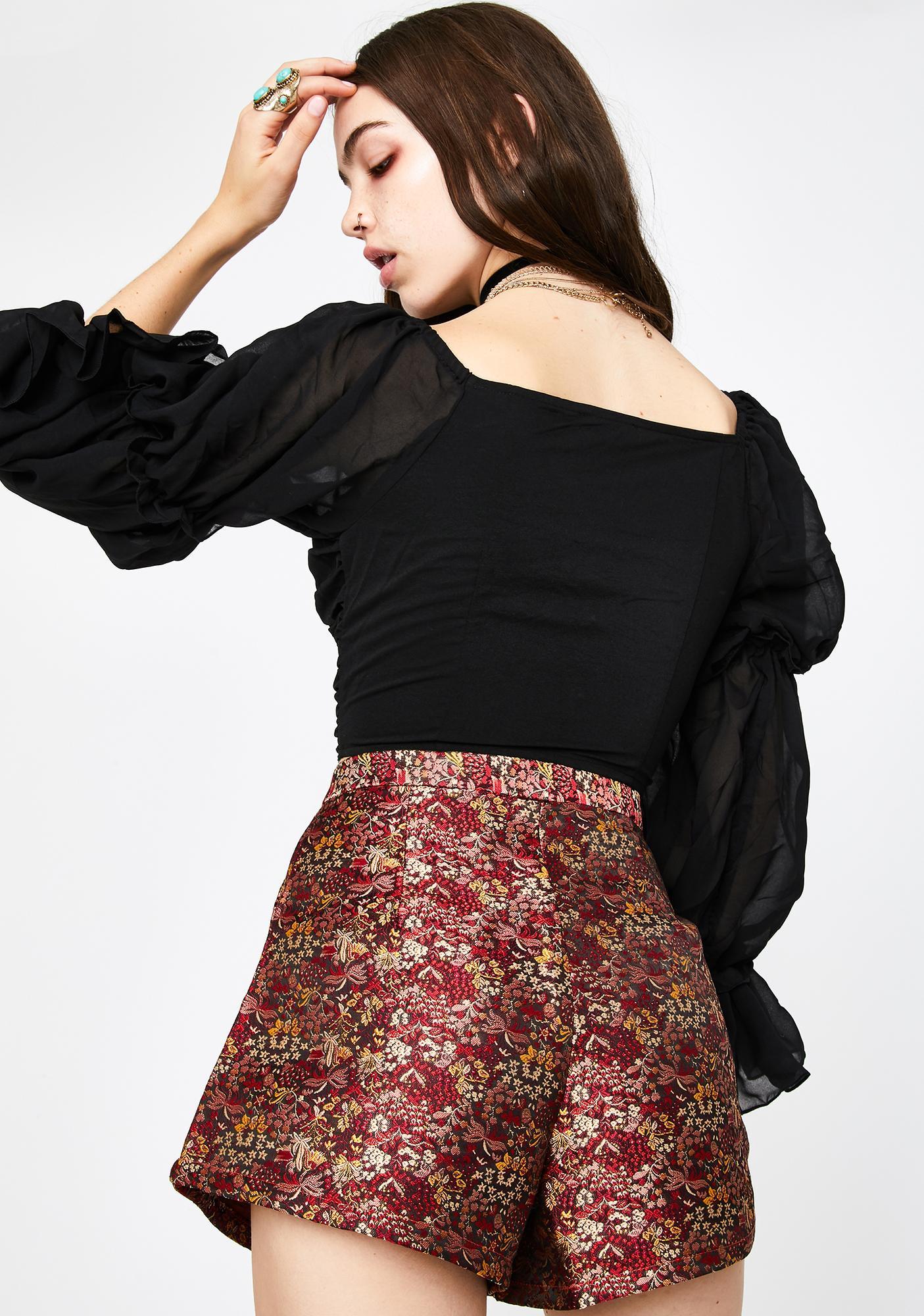 Seven Wonders Indie Brocade Shorts