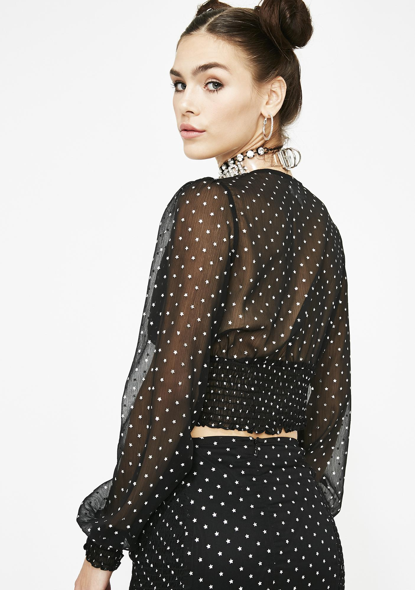 Star Cruisin' Ruched Blouse