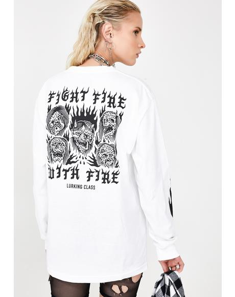 Fight Fire Long Sleeve Tee