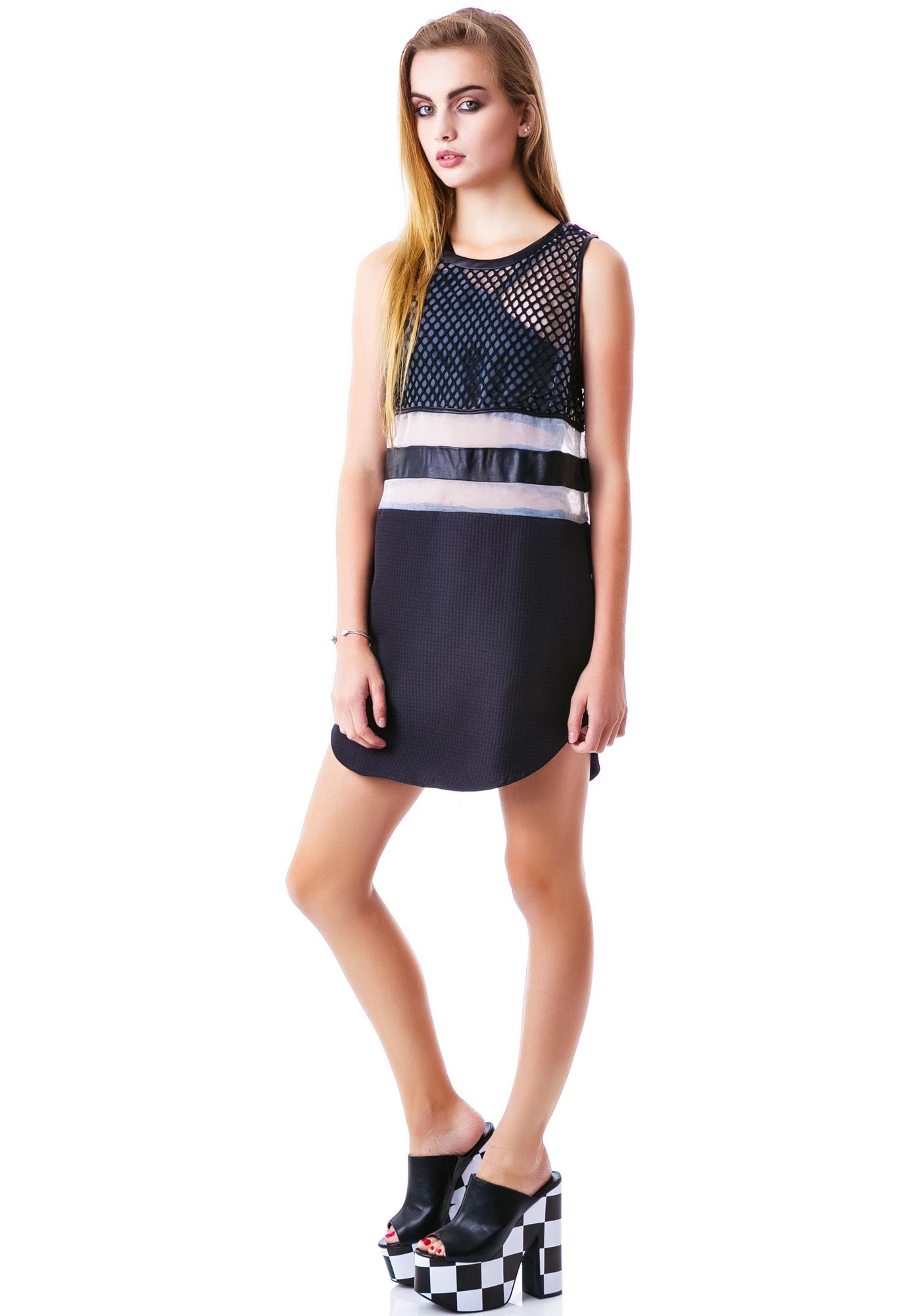 Meshed Up Thoughts Dress