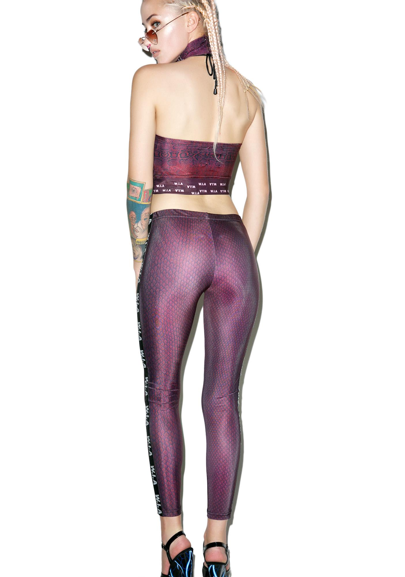 W.I.A Snaky Leggings
