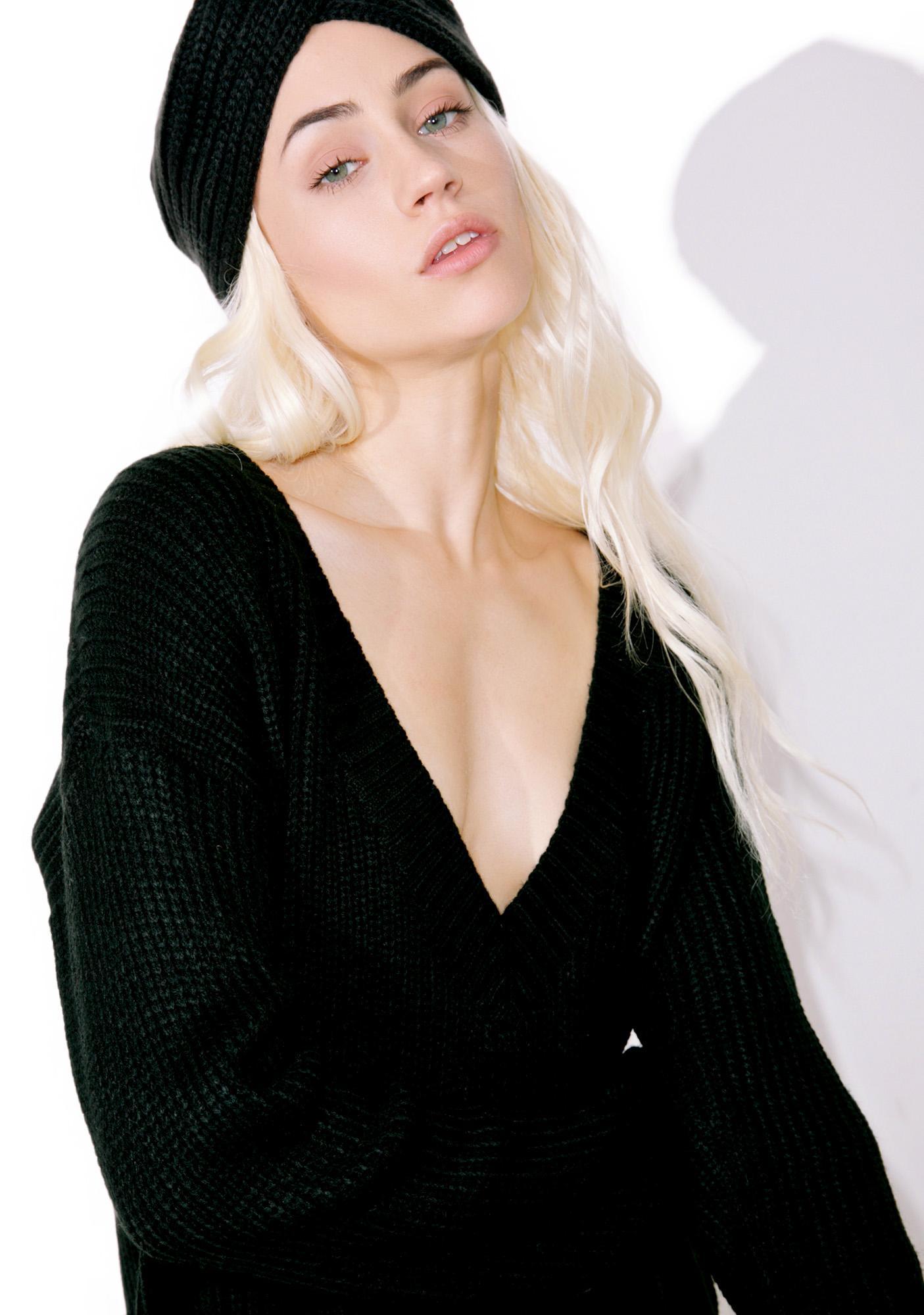 Lazy Lover V-Neck Sweater