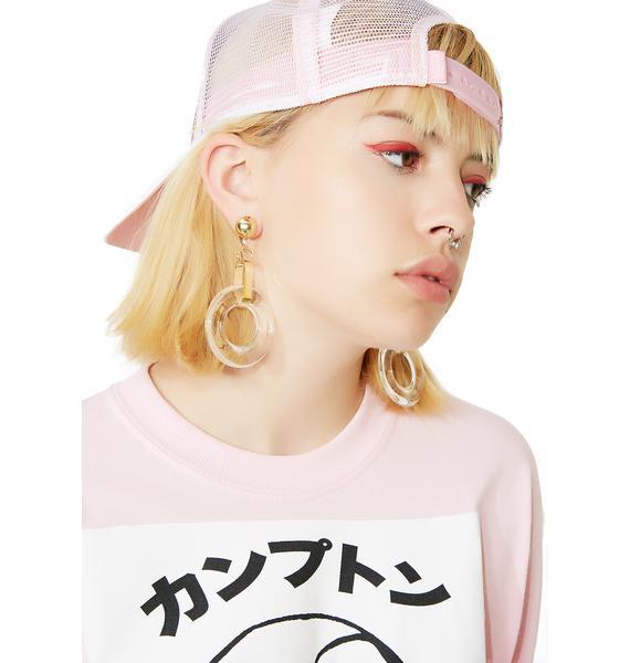 Loud N' Clear Drop Earrings