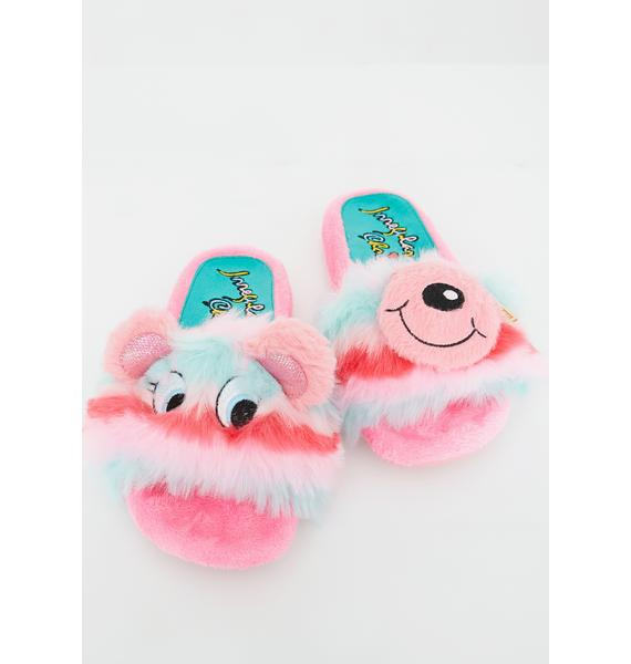 Irregular Choice Miss Baby Bear Slides