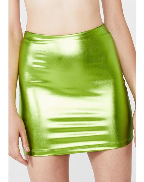Lime Kimmy Skirt