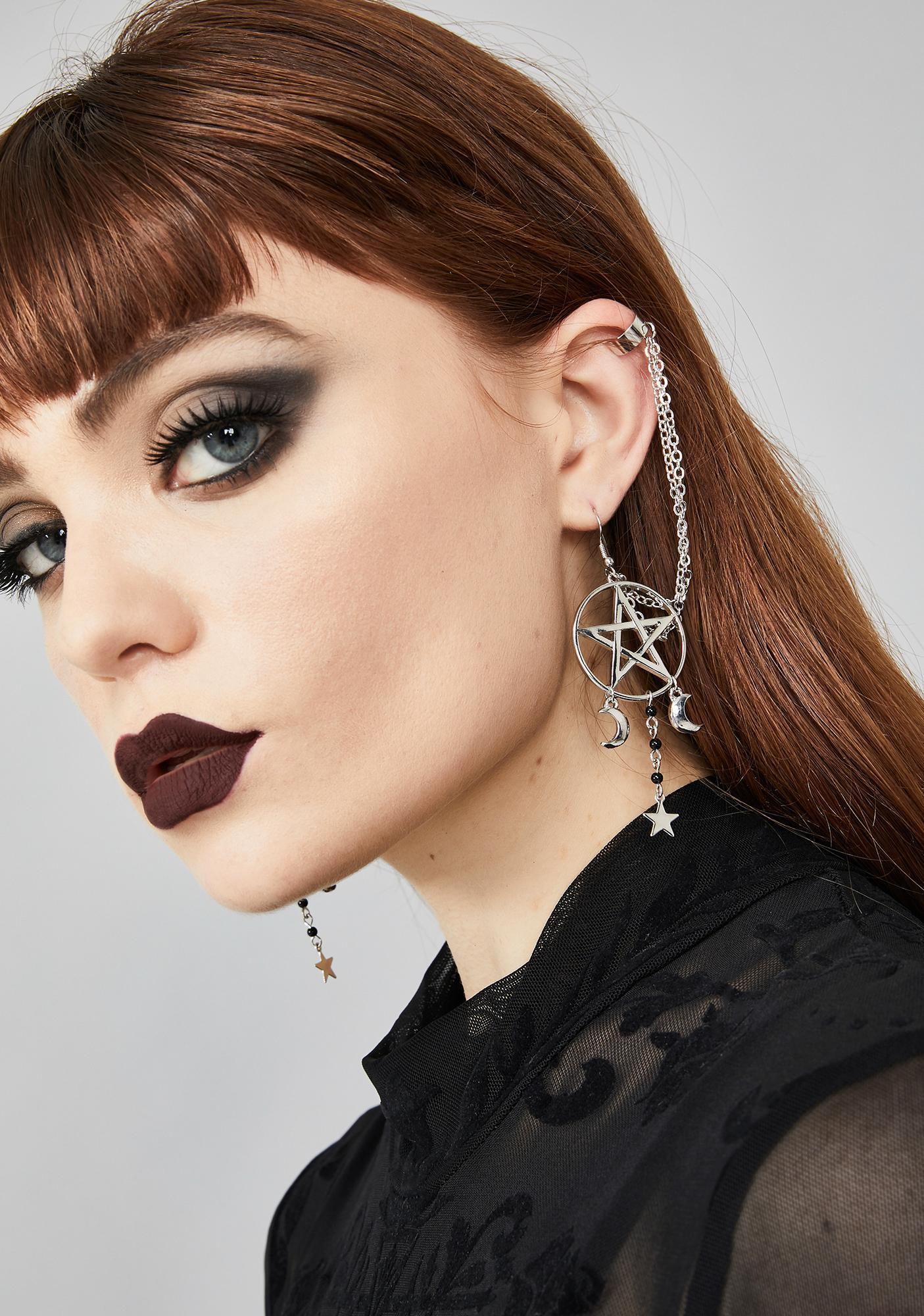 Starlit Ritual Charm Earrings