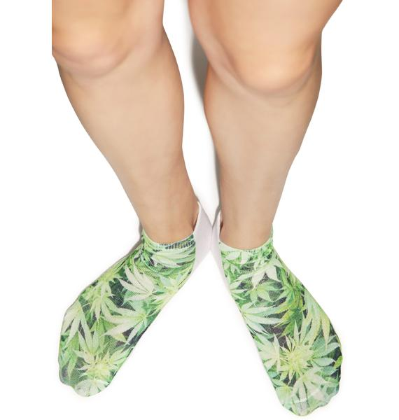 Keepin' It Kush Ankle Socks