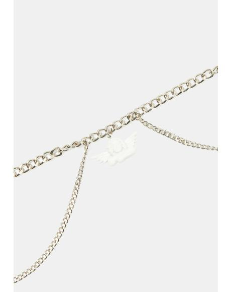 Goddess Of Luv Cupid Choker