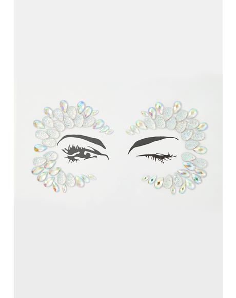 Crystal Diamond Face Jewel