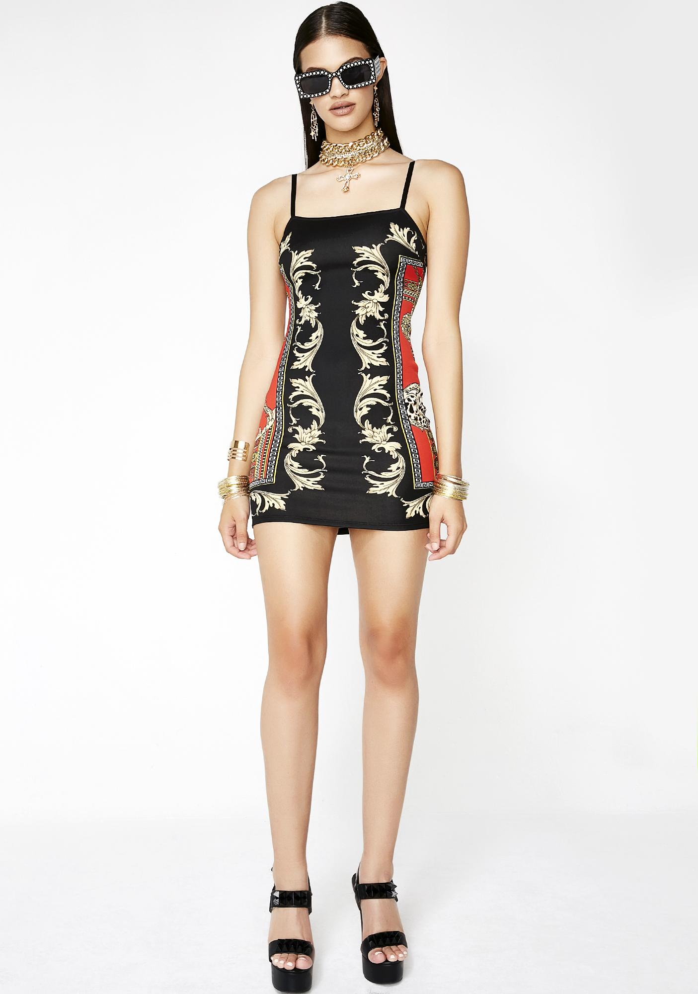 Always Rollin Deep Bodycon Dress