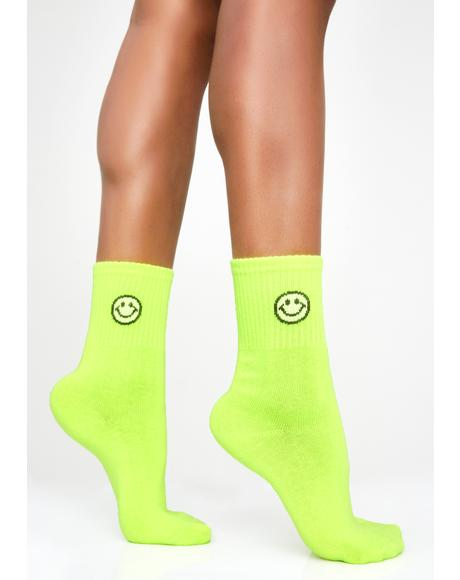 Smile Squad Crew Socks