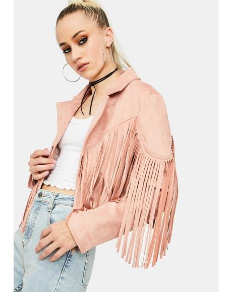 Live It Up Cropped Jacket
