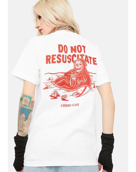 Do Not Resuscitate Graphic Tee