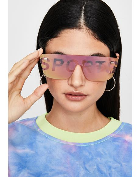 Spicy Major Leaguez Oversized Sunglasses