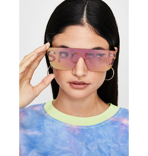 Spicy Major Leaguez Oversized Sunglasses