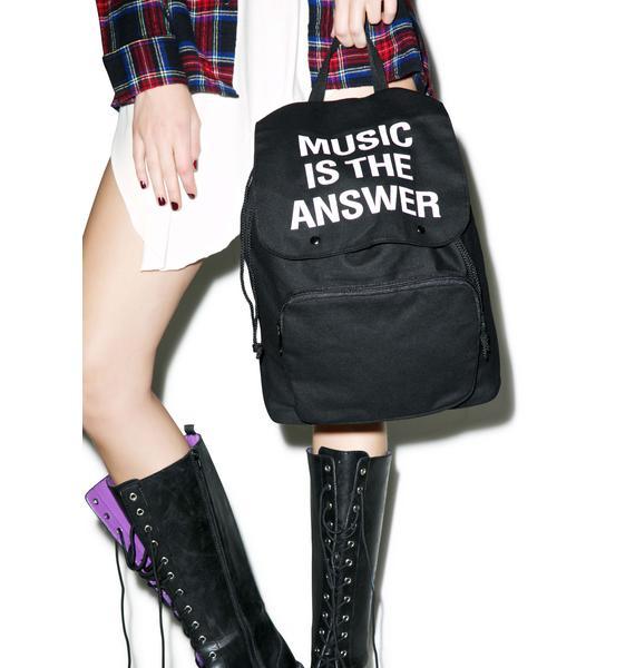 Jac Vanek Music Backpack