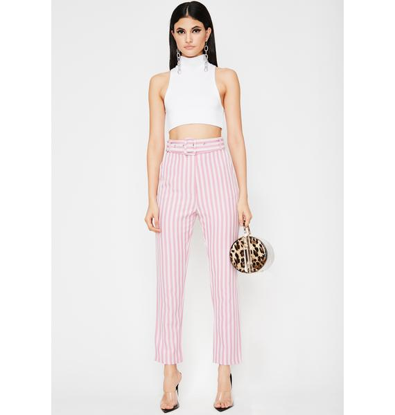 Baby Diva Edition Belted Pants