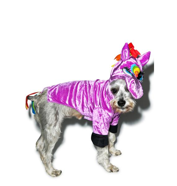 Seeing Is Believing Unicorn Dog Costume