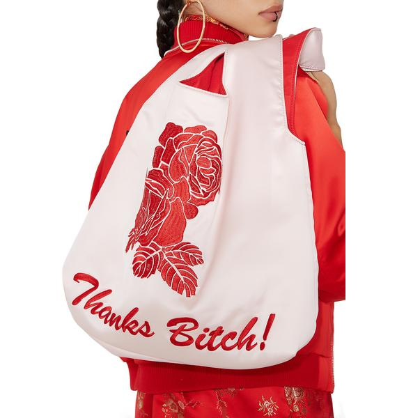 Current Mood Miss Manners Satin Shopper
