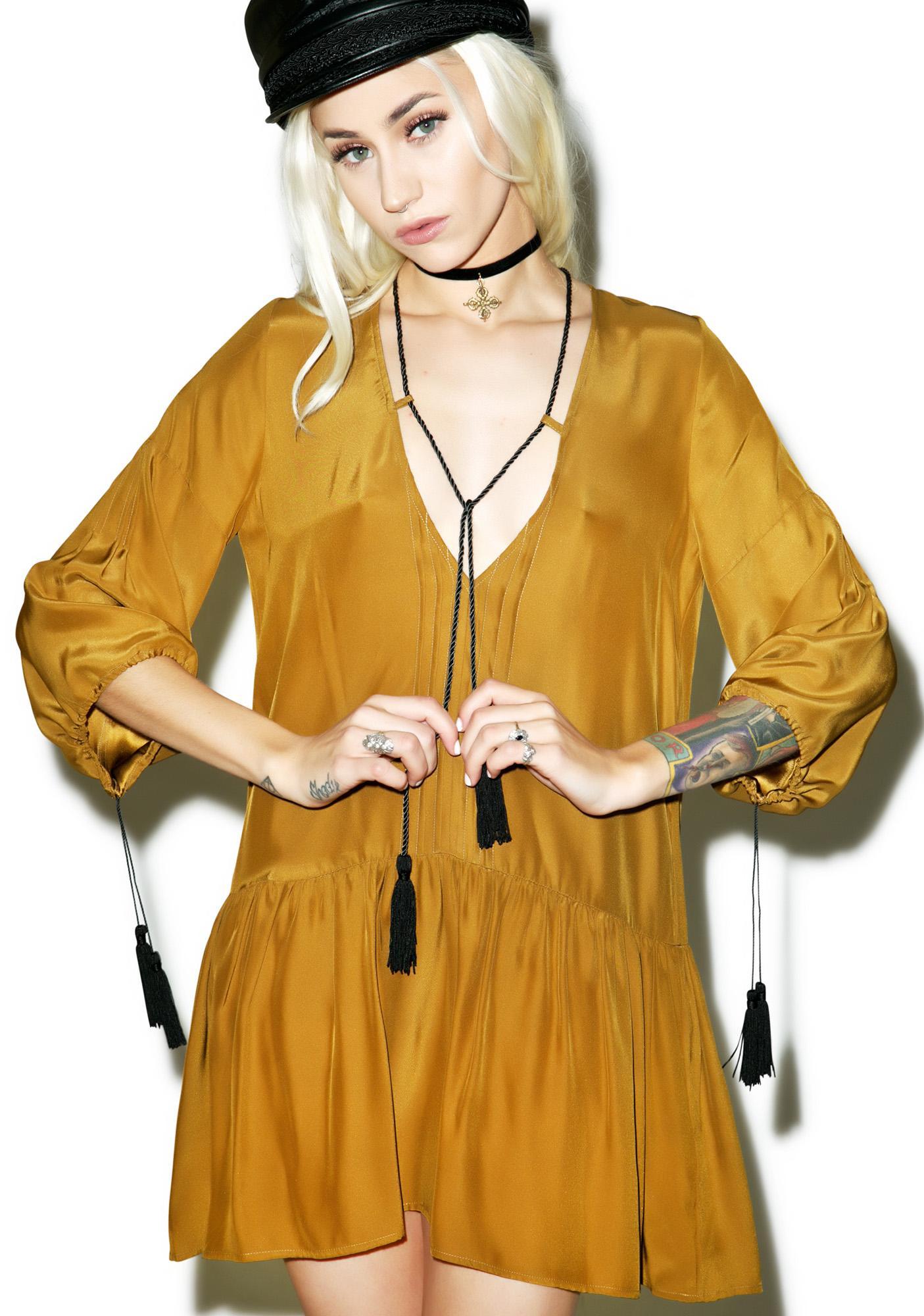 For Love & Lemons Monterey Mini Dress