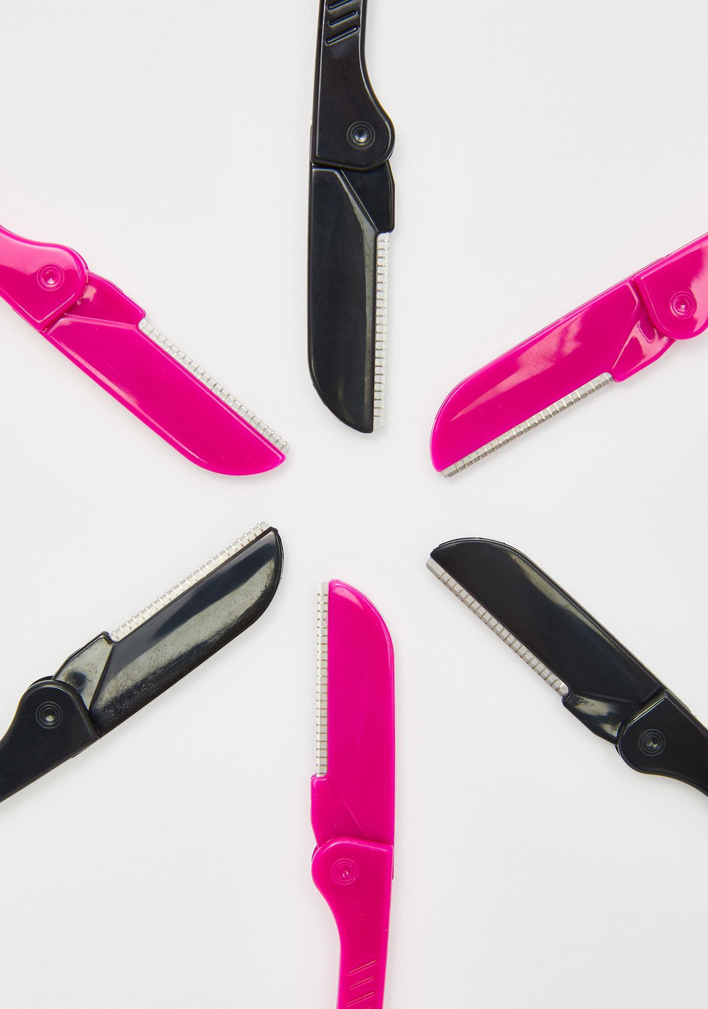 Danielle's Creations 6 Pack Folding Beauty Razors