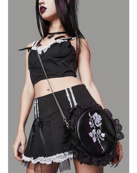 Fluff Off Lace Crossbody Bag