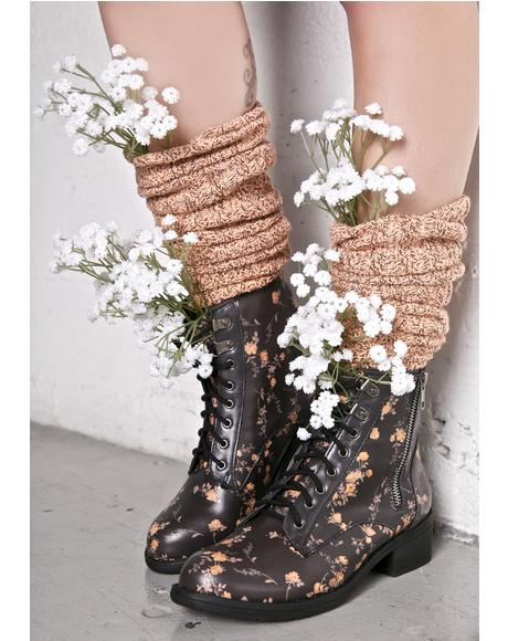 Primrose Lace-Up Boots