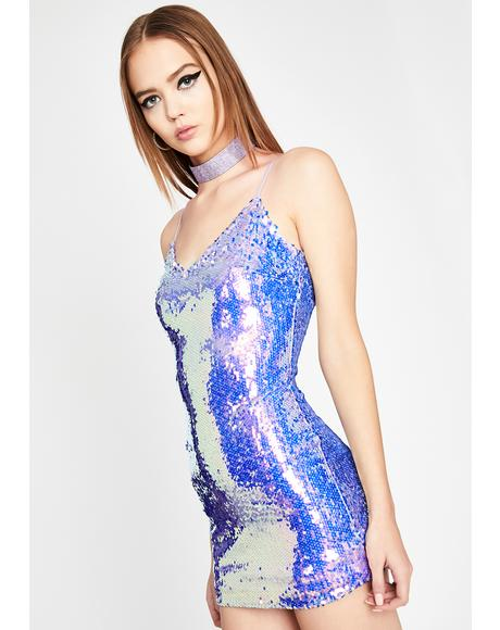 Pixie Forever Extra Sequin Dress