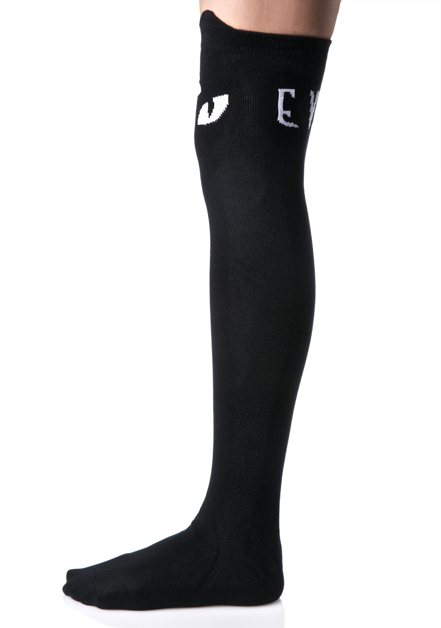 Killstar Purr Evil Socks