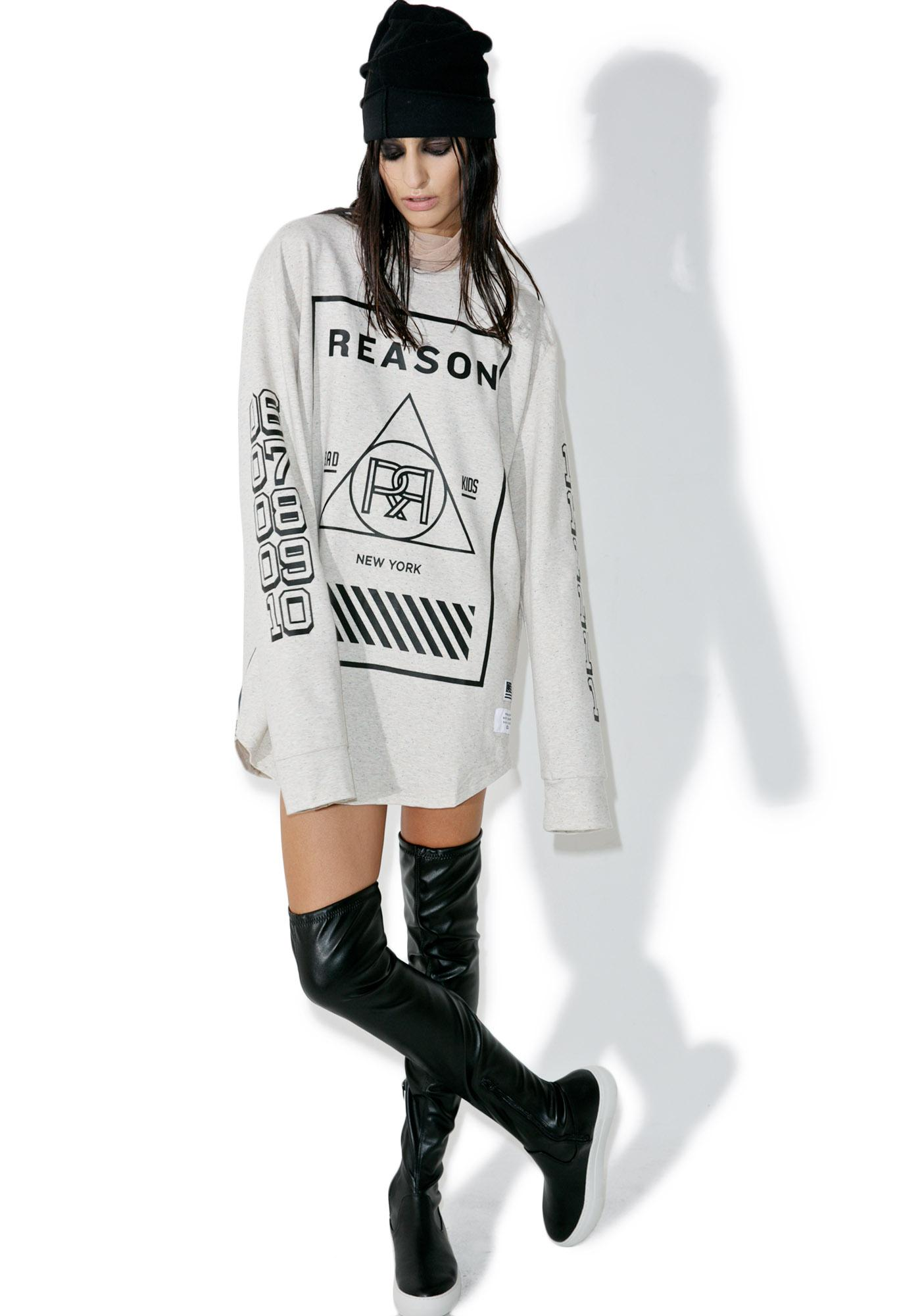 Reason Years Long Sleeve T-Shirt