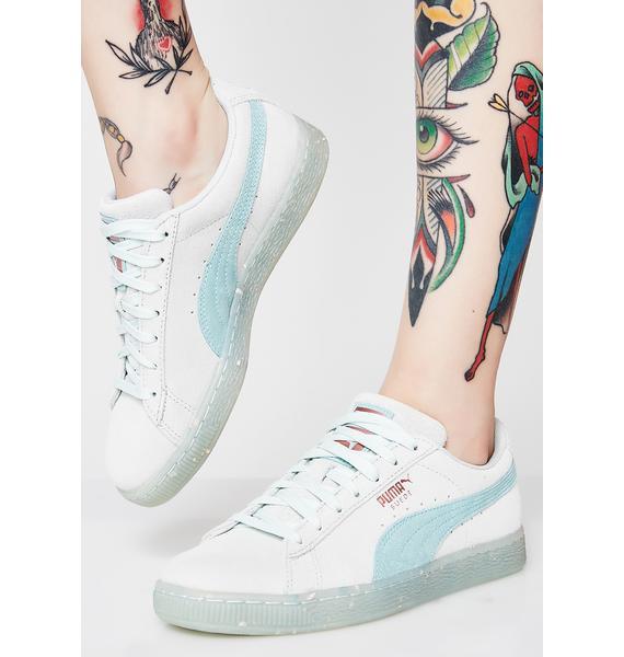 PUMA Suede Classic Glitz Sneakers