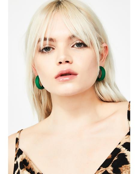 Sneaky Sass Hoop Earrings