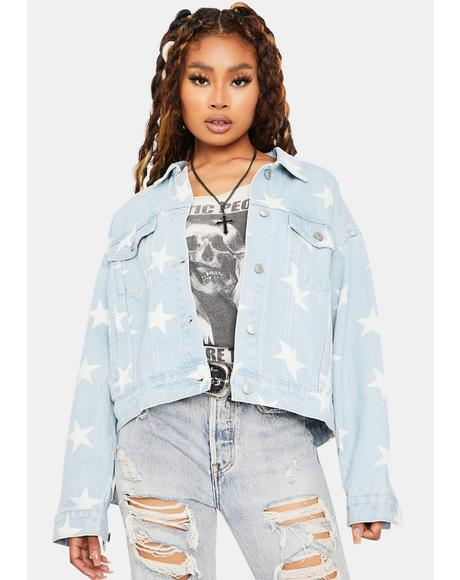 The Silver Screen Denim Jacket
