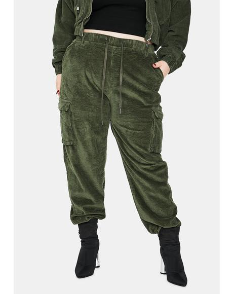 Babe I Know Places Cargo Joggers