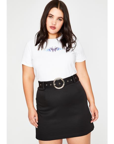 Out Past Curfew Mini Skirt