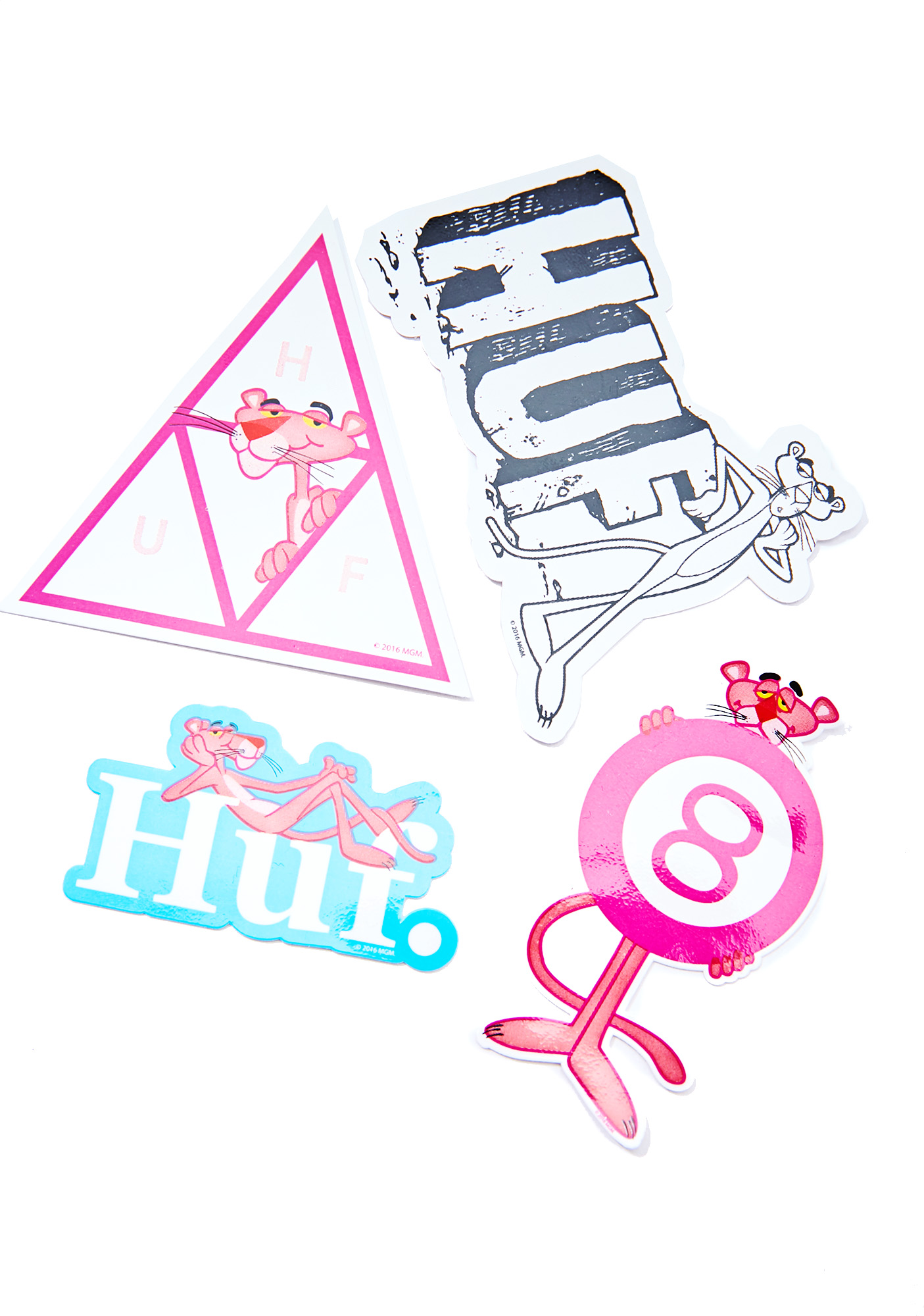 HUF X Pink Panther Sticker Park
