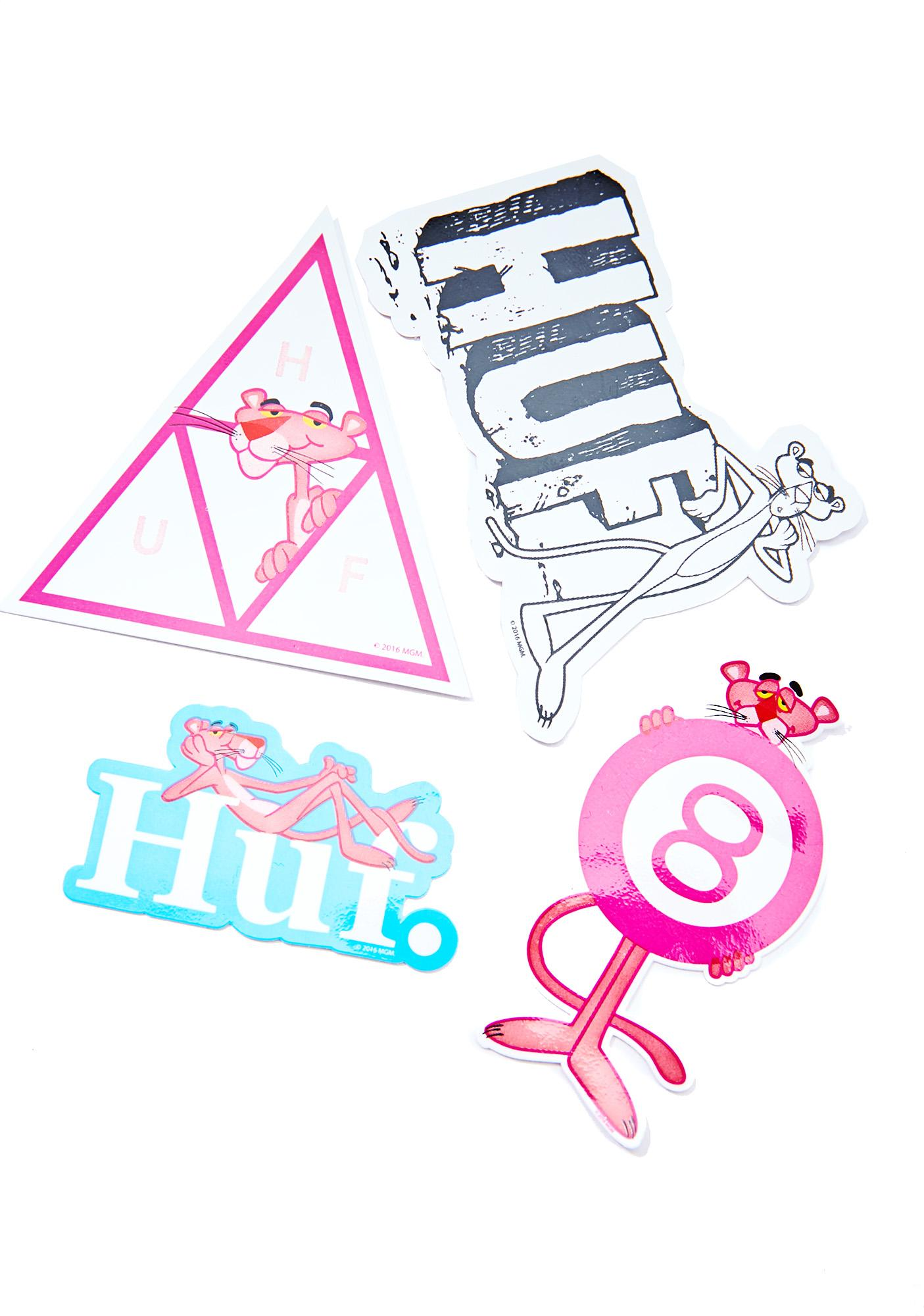 HUF X PP Sticker Pack