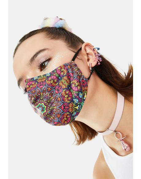 Higher Beings Face Mask