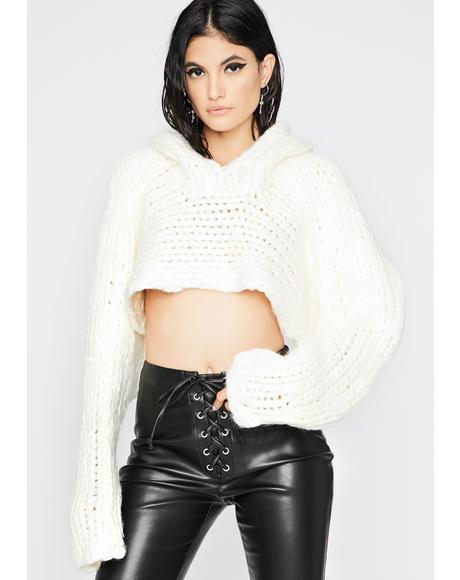 Pure Chic Freak Sweater Shrug