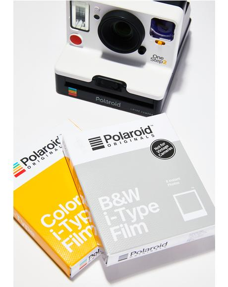 i-Type B&W Polaroid Film