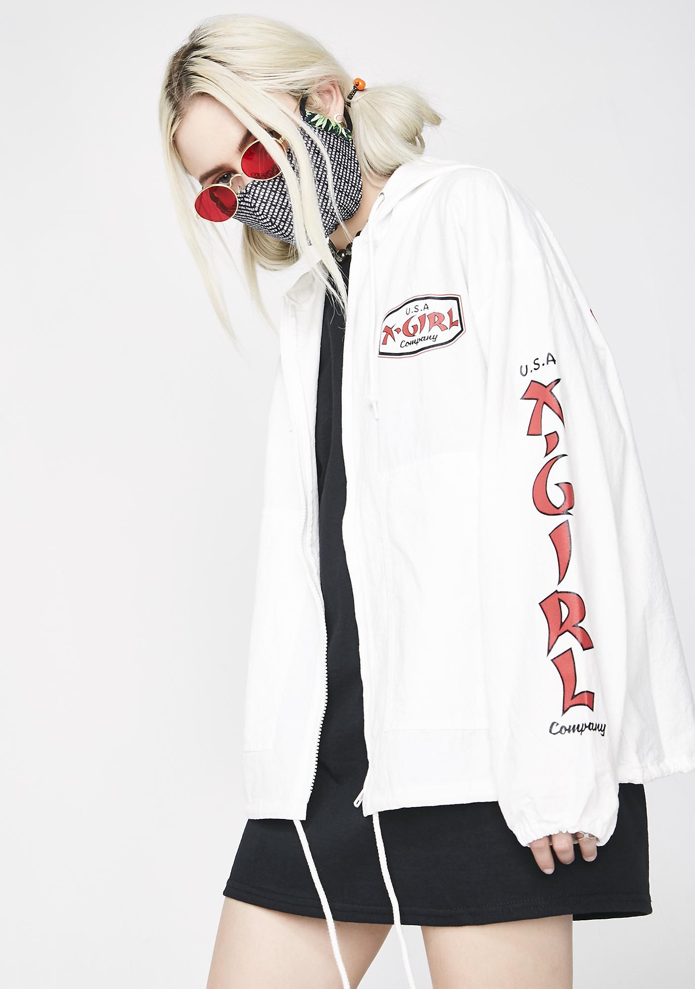 x-Girl Join Us Zip-Up Hoodie