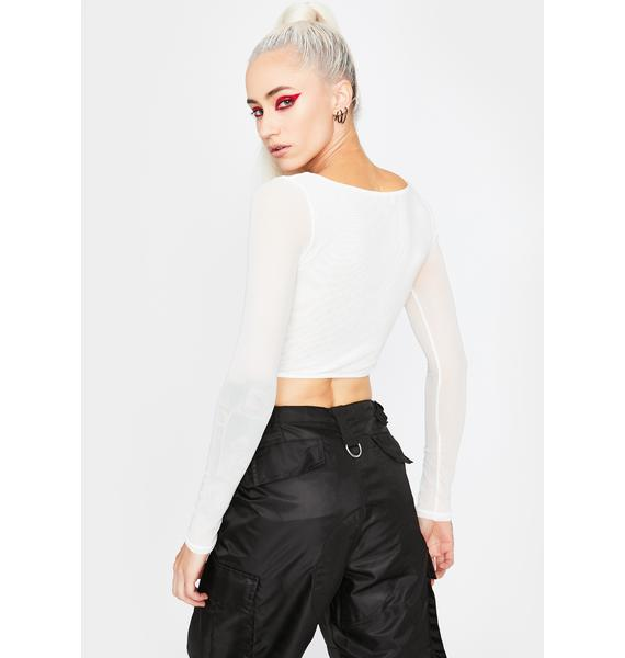 Iced Out Crop Top
