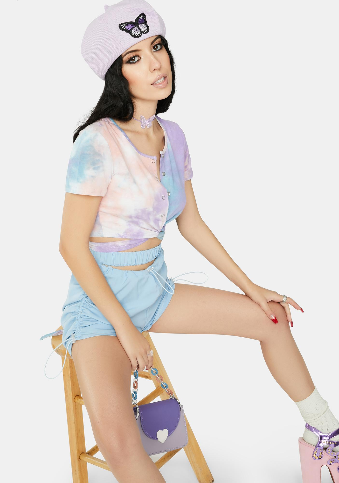 ZEMETA Candy Mix Tie Top